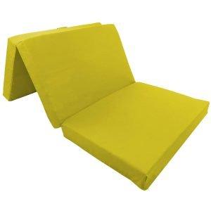 Gelbe Schlafsessel