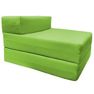 Grüne Schlafsessel