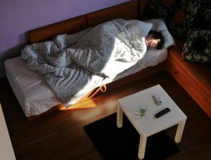 Schlafen im Wohnzimmer - Ideen für Schlafmöglichkeiten im Kombi-Wohnraum