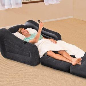 Schlafsessel mit Armlehne
